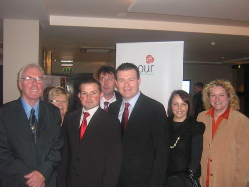 With North Tipp Members at National Conference 08 in Kilkenny