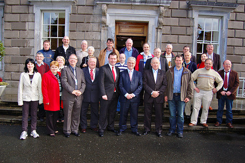 North Tipp Members Visit to Leinster House