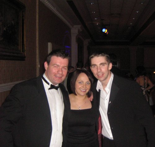 GPA Awards with two Kerry Fans, Regina and Mark OShea