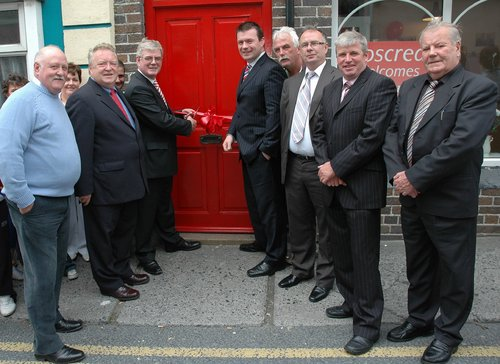 Roscrea Office Opening with Party Leader Eamon Gilmore