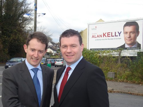 Euro Campaign Kick Off with Sean Sherlock TD