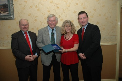 North Tipp Labour Heart of Gold Award For Pat Whelan