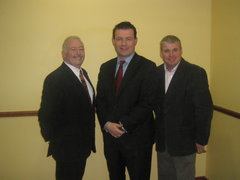 With Cllr John Kenehan and Cllr John Kennedy at the Thurles Convetion 08