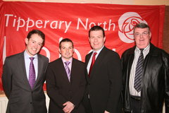 Newport Area Convention  - At the Newport Area Convention were Sean Sherlock TD, Jonathan Meaney (Candidate), Senator Alan Kelly and Cllr. Sean Creamer