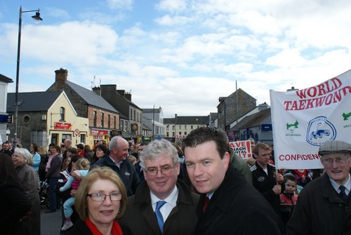 Nenagh Hospital Protest with Eamoan and Jan