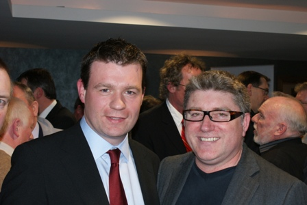 With Another Tipperaryman, Pat Shortt