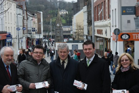 Campaigning in Waterford's Red Square