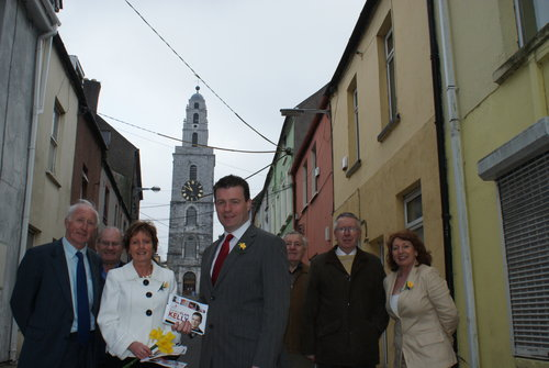 With Kathleen Lynch TD, Cllrs Kelleher and Clancy