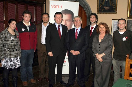 Cork Campaign Launch with UCC Branch