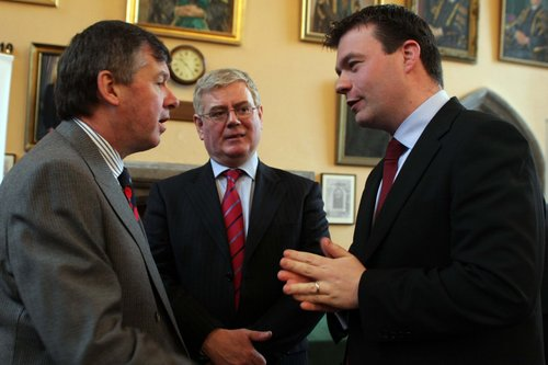 Eamon and I with UCC President Michael Murphy