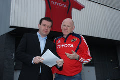 With Labour and Munster Legend Cllr Gerry Ginger McLoughlin
