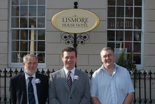In Lismore with John Pratt and Jan Rotte