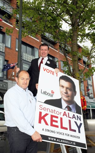 Alan Kelly and The Claw