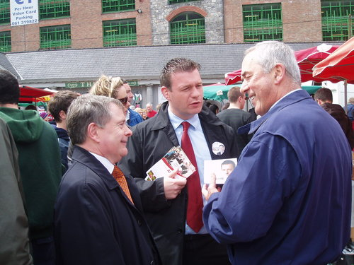 Limerick Canvassing with Brendan