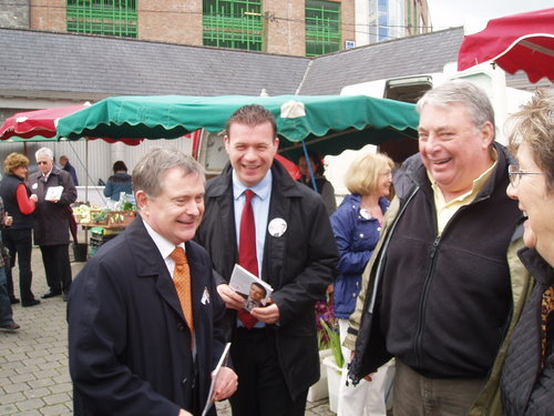 Limerick Canvassing with Brendan Howlin