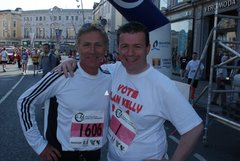Running Mates Eamonn Coghlan and Alan Kelly
