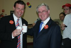Stopping for Tea with Eamon Gilmore