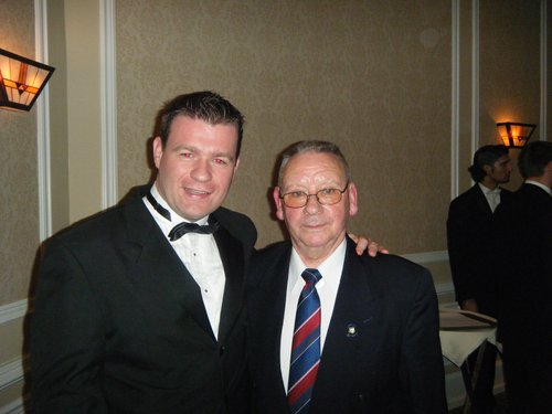 With Jimmy Doyle at New York GAA Tipperary Dance