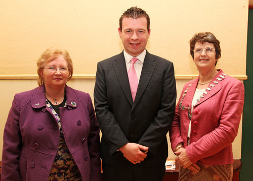 MEP Alan Kelly with Tipperary ICA President