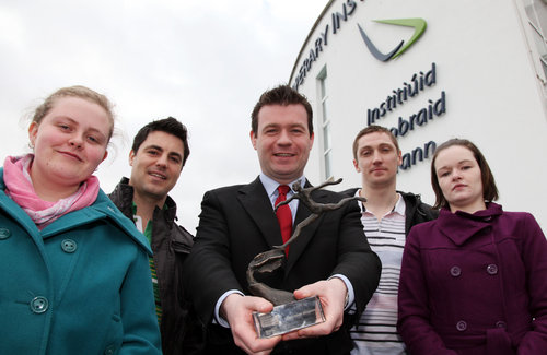Alan Kelly meets Tipp Institute enterprise winners
