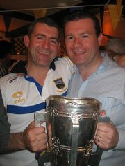 With Liam and Liam - With Liam Sheedy at Homecoming of Tipperary hurling Team in Portroe after All Ireland win