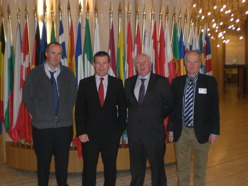 Alan Kelly MEP with ICMSA in Strasbourg