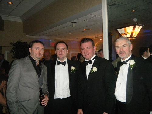 At the New York Tipp Dinner Dance with Mark Langton Nenagh, Eoin Kelly and Mike Ryan, Upperchurch