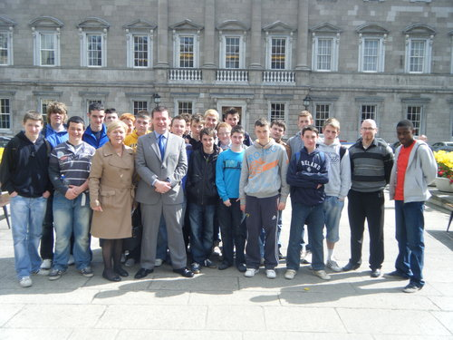 Nenagh CBS Transition Year Visit To Dail