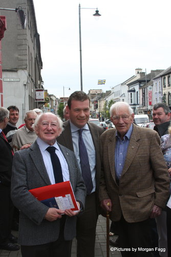 Michael D, Frank Lewis and I