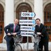 Alan Kelly and Taoiseach Enda Kenny Launch Bike Scheme