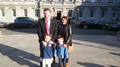 Alan Kelly Family