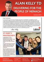 Publication cover - KELLY ALAN NENAGH NEWS 4368